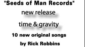 10 new original songs by Rick Robbins